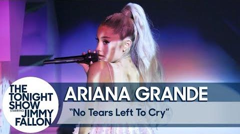 Ariana Grande- No Tears Left to Cry (TV Debut)