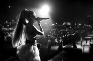 Ariana at Coachella 2018 performing No Tears Left To Cry (19)