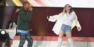 One Love Manchester Pharrell and Miley (2)