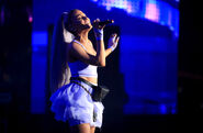 Ariana at Coachella 2018 performing No Tears Left To Cry (12)