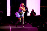 Ariana at Coachella 2018 performing No Tears Left To Cry (14)