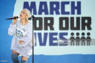 Ariana Grande at March For Our Lives in Washington DC (4)