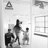 Ariana with Brian and Scott Nicholson - Rebook (1)