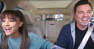 Ariana Grande and Seth Marcfalane Carpool Karaoke The Series (2)