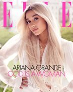 Ariana Grande photoshoot for ELLE Magazine 2018 (1)