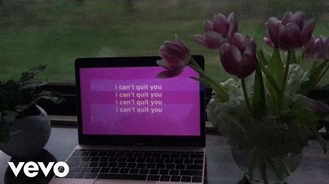 Cashmere Cat - Quit (Lyric Video) ft