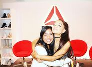 Ariana Grande Reebok Event with Fans (1)