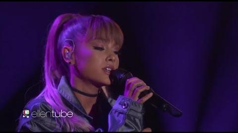 Ariana Grande - Into You Side To Side (Live on Ellen Show) HD