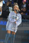 Ariana Grande at March For Our Lives in Washington DC (10)