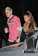 Ariana Grande and Pete Davidson spotted in NY September 20th (1)
