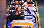 Ariana at Disneyland with friends in Anaheim, California April 8 2018 (5)
