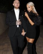 Ariana and Mac OSCARS 2018 After Party (1)