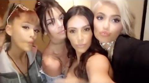 Kylie Jenner Snapchat Videos October 2016 ft Tyga, Ariana Grande, Kim Kardashian MORE