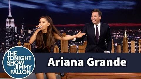 Ariana Grande Does a Spot-On Celine Dion Impression
