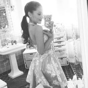 Ariana Off to Power of Youth in Keds.jpg