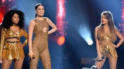 Jessie J, Ariana Grande, Nicki Minaj - Bang Bang (American Music Awards 2014)