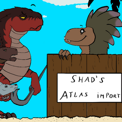 Bestiaire du mod : Shad Atlas Import