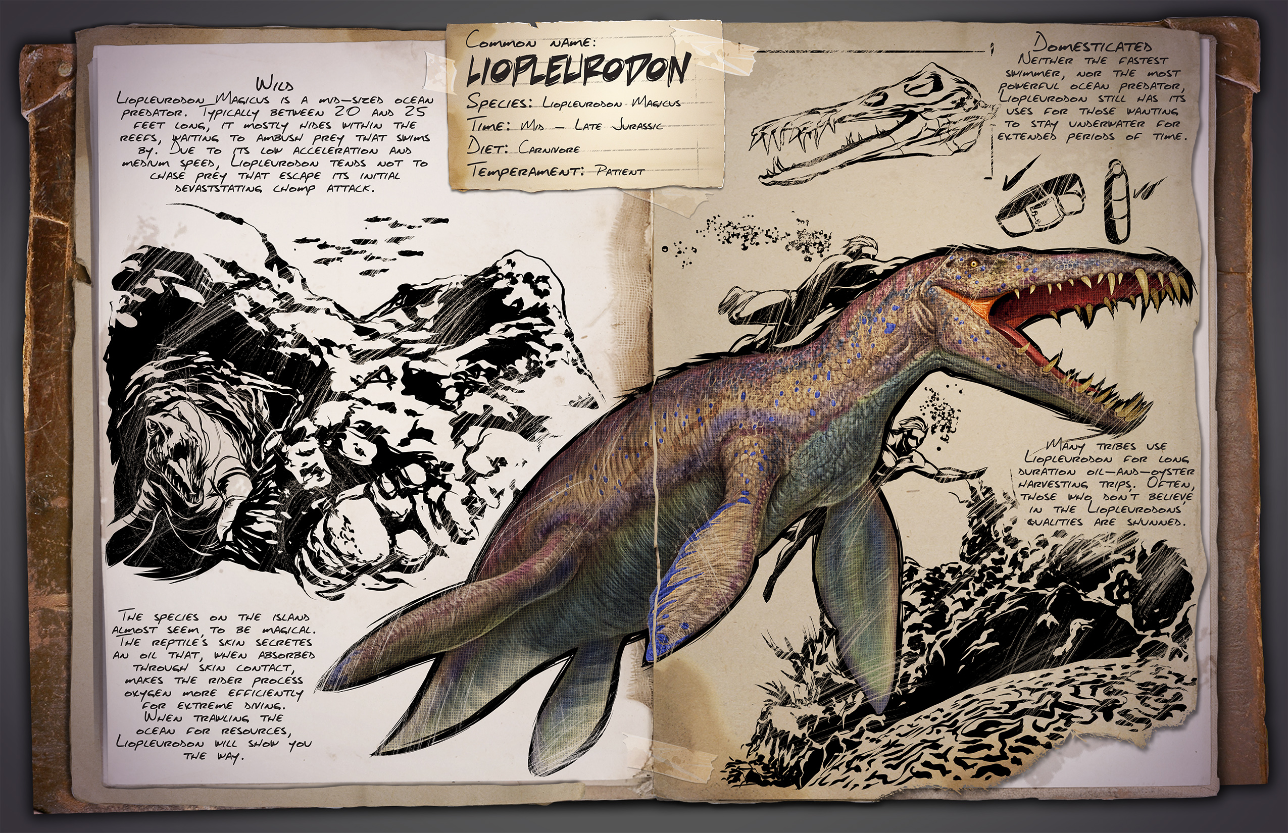 Liopleurodon Ark Survival Evolved Wiki Fandom Using this ark stat calculator can help you determine if the creature has increased its stats for a specific stat you're interested in. liopleurodon ark survival evolved