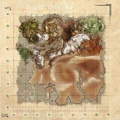 Ragarok ingame map