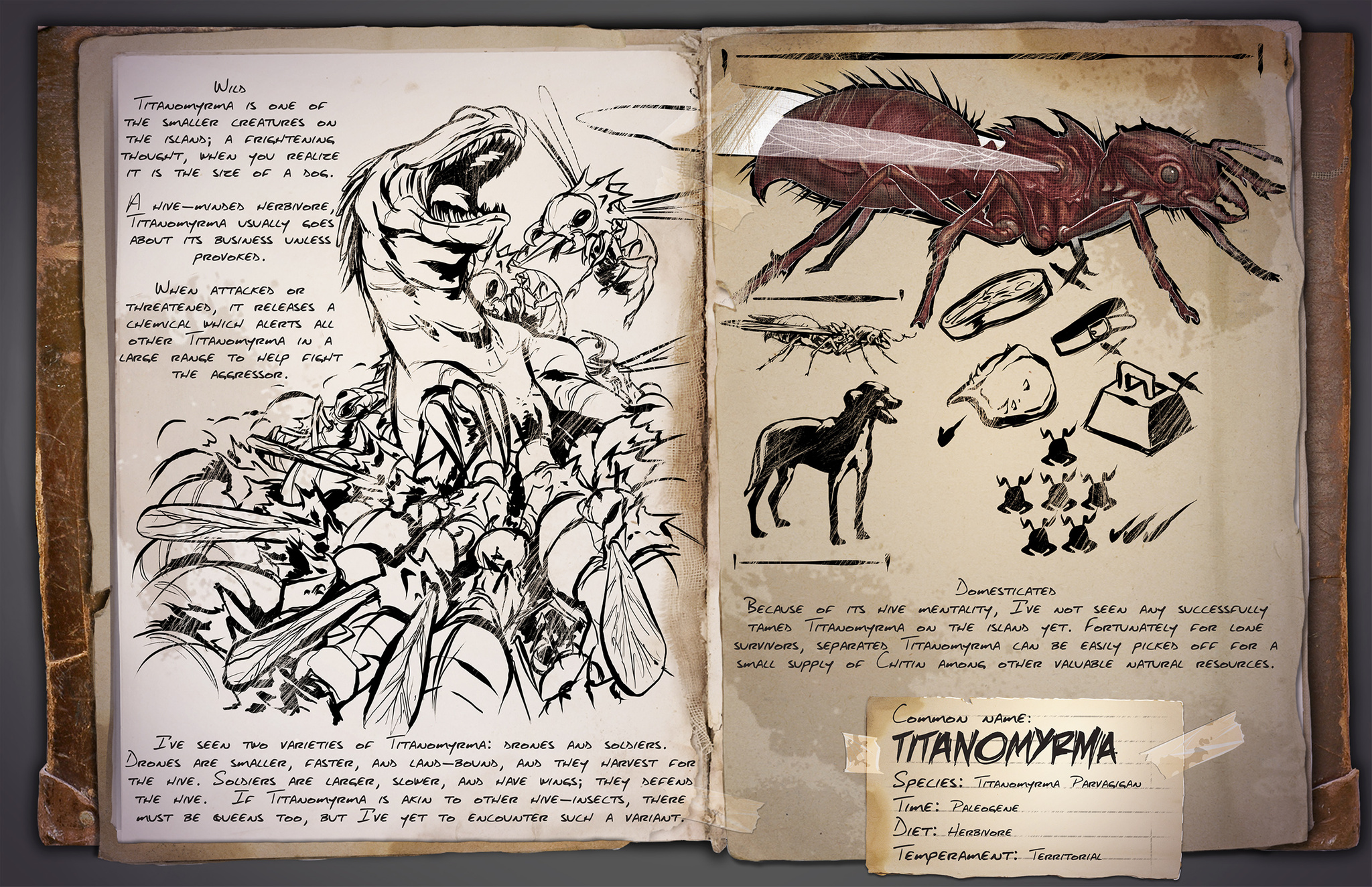 Titanomyrma Ark Survival Evolved Wiki Fandom It is a support creature for. titanomyrma ark survival evolved
