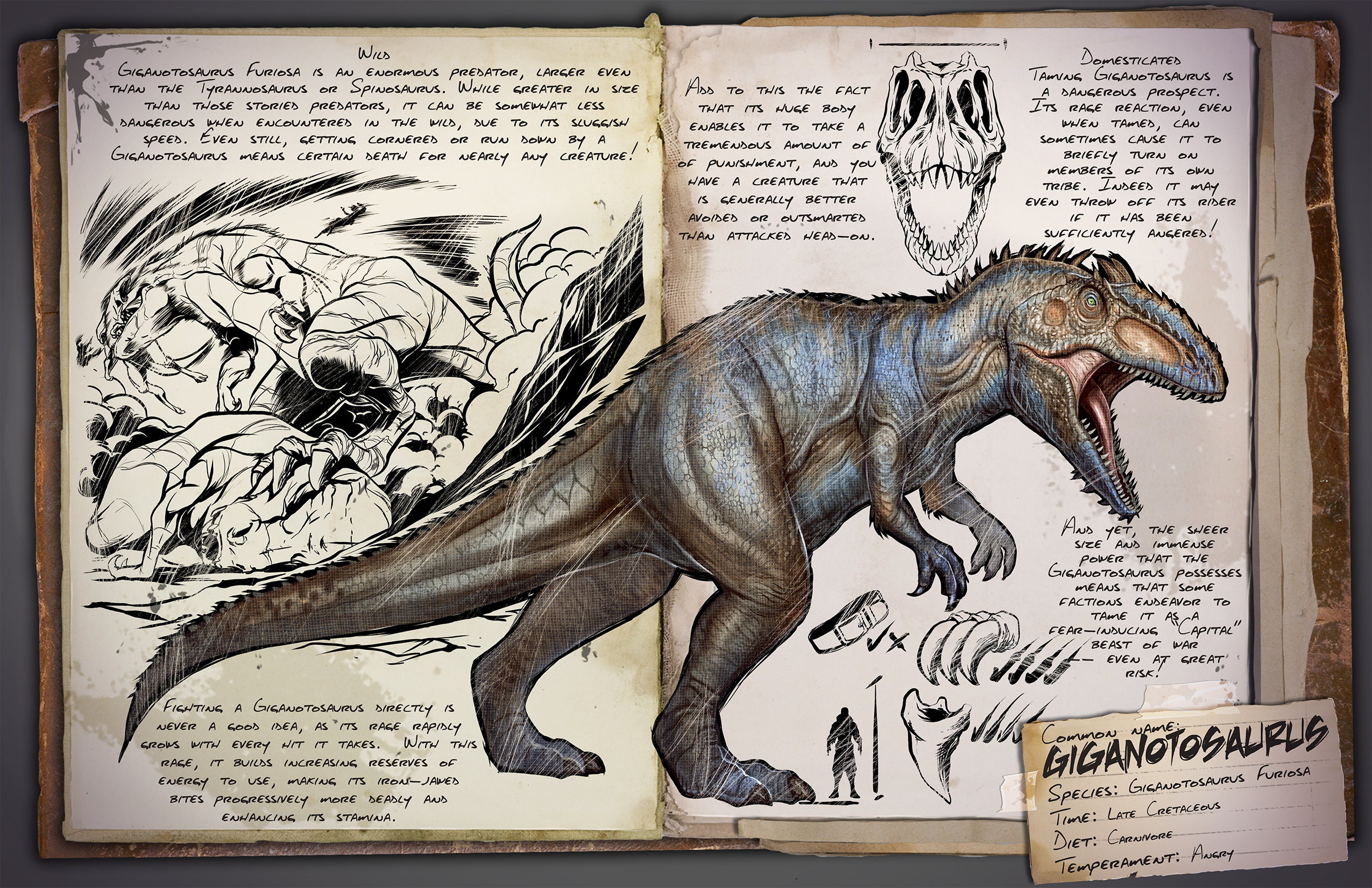 Giganotosaurus Ark Survival Evolved Wiki Fandom The ark id for daeodon is daeodon_character_bp_c, this is commonly referred to as a creature id. giganotosaurus ark survival evolved