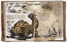 Шипастый дракон