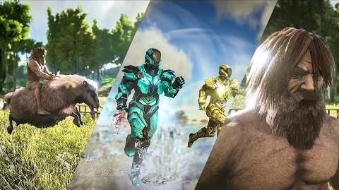 Patch 254 TEK Tier, Purlovia, Baryonyx, Basilosaurus, Ovis, Hair, and more!