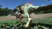 Allosaurus Ingame05