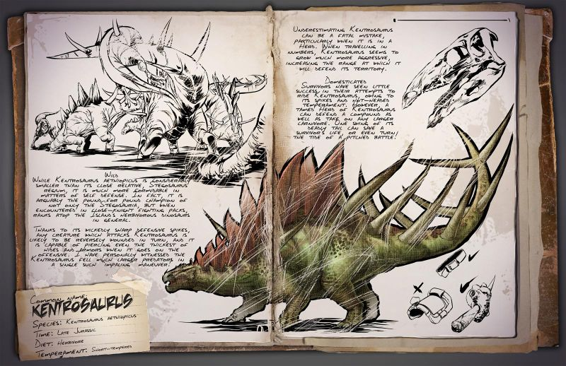 Kentrosaurus Ark Survival Evolved Wiki Fandom Soooo i didnt want to take up space in my base with a smithy. kentrosaurus ark survival evolved