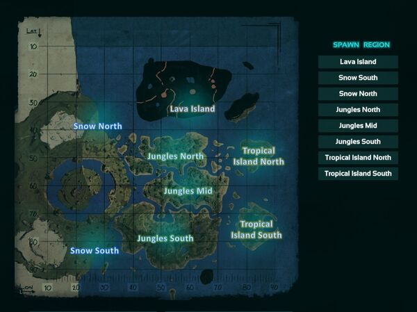 The Center Spawn Loc Map