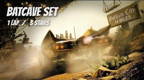"""Batcave Set"" 1 Lap, 3 Stars PERFECT RACE"