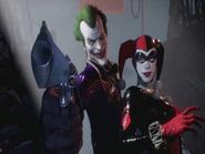 Arkham knight joker and harley dlc