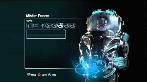 Batman arkham city Mister Freeze Tapes