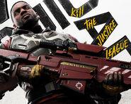 Suicide Squad Kill the Justice League Deadshot key art