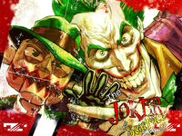 Joker billboard arkhamcity by chuckdee