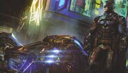 Arkham-KnightBatmoblie