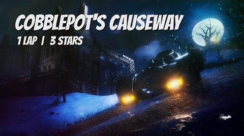 """Cobblepot's Causeway"" 1 Lap, 3 Stars PERFECT RACE"