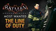 Batman- Arkham Knight - The Line of Duty (Most Wanted Walkthrough)