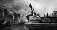 Arkhamcity-armored catwoman