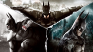 Batman Arkham Collection 2019 cover art