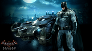 BvS Batman-batmobile-Arkham Knight skin