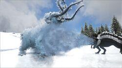 Mod ARK Additions Cryolophosaurus image 3.jpg