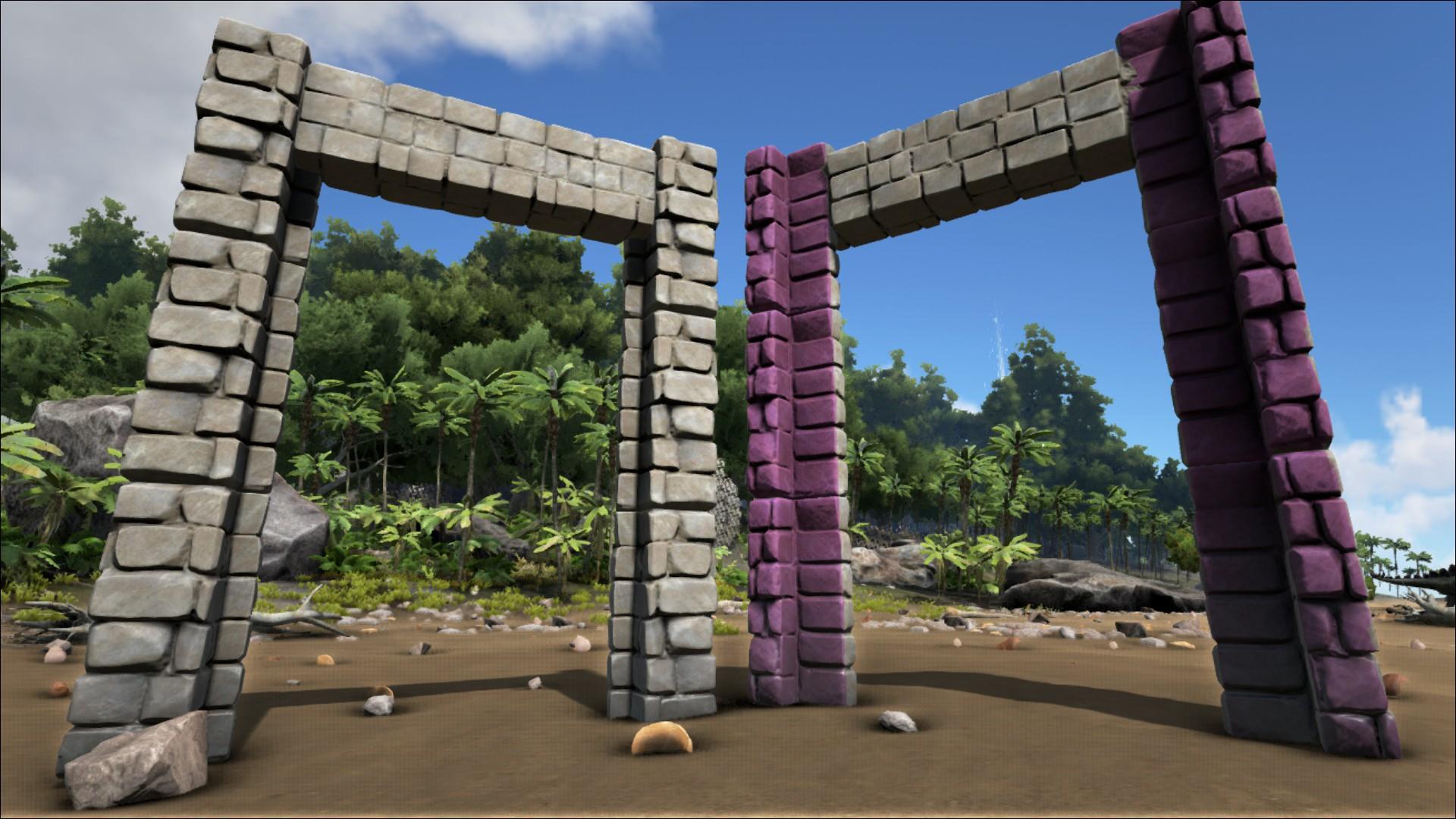 Stone Dinosaur Gateway Official Ark Survival Evolved Wiki