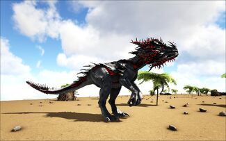 Ark Velonasaur / Other information includes an admin spawn command generator, blueprint, name tag and entity class.
