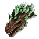 Gamma Crystal Wyvern Queen Trophy (Crystal Isles).png