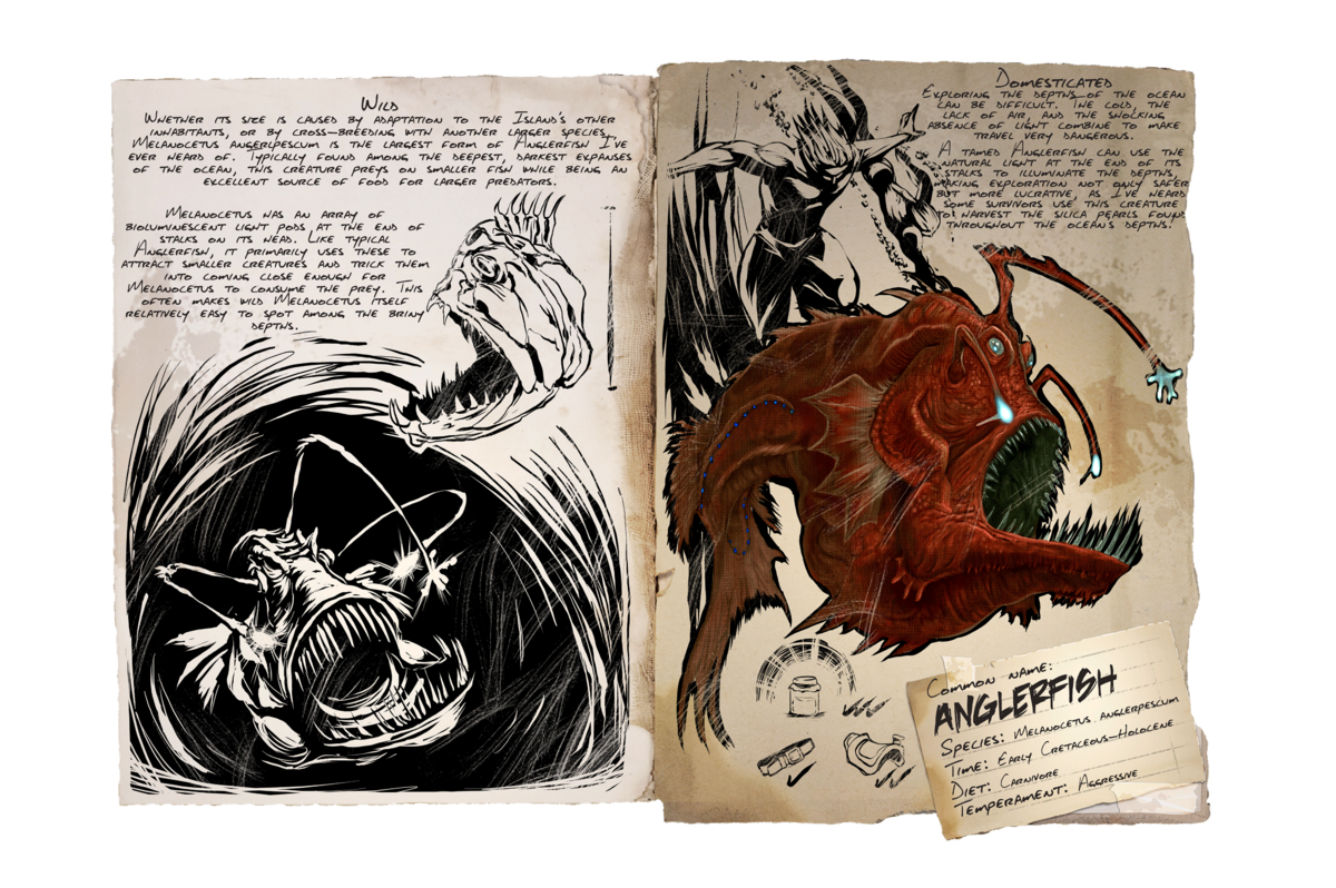 Anglerfish Official Ark Survival Evolved Wiki Here are the locations for that. ark survival evolved wiki