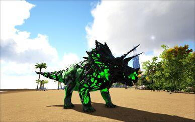 Mod Ark Eternal Elemental Poison Corrupted Triceratops Image.jpg