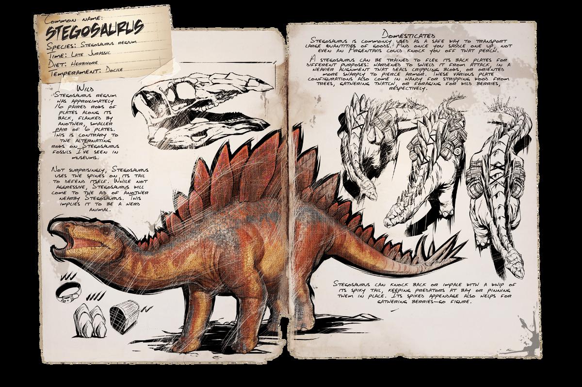 Stegosaurus Official Ark Survival Evolved Wiki Der daedon ist durch seinen gesundheitsbonus ein starker gegner in ark: ark survival evolved wiki
