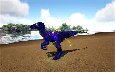Mod Ark Eternal Elemental Corrupted Lightning Raptor Image.jpg