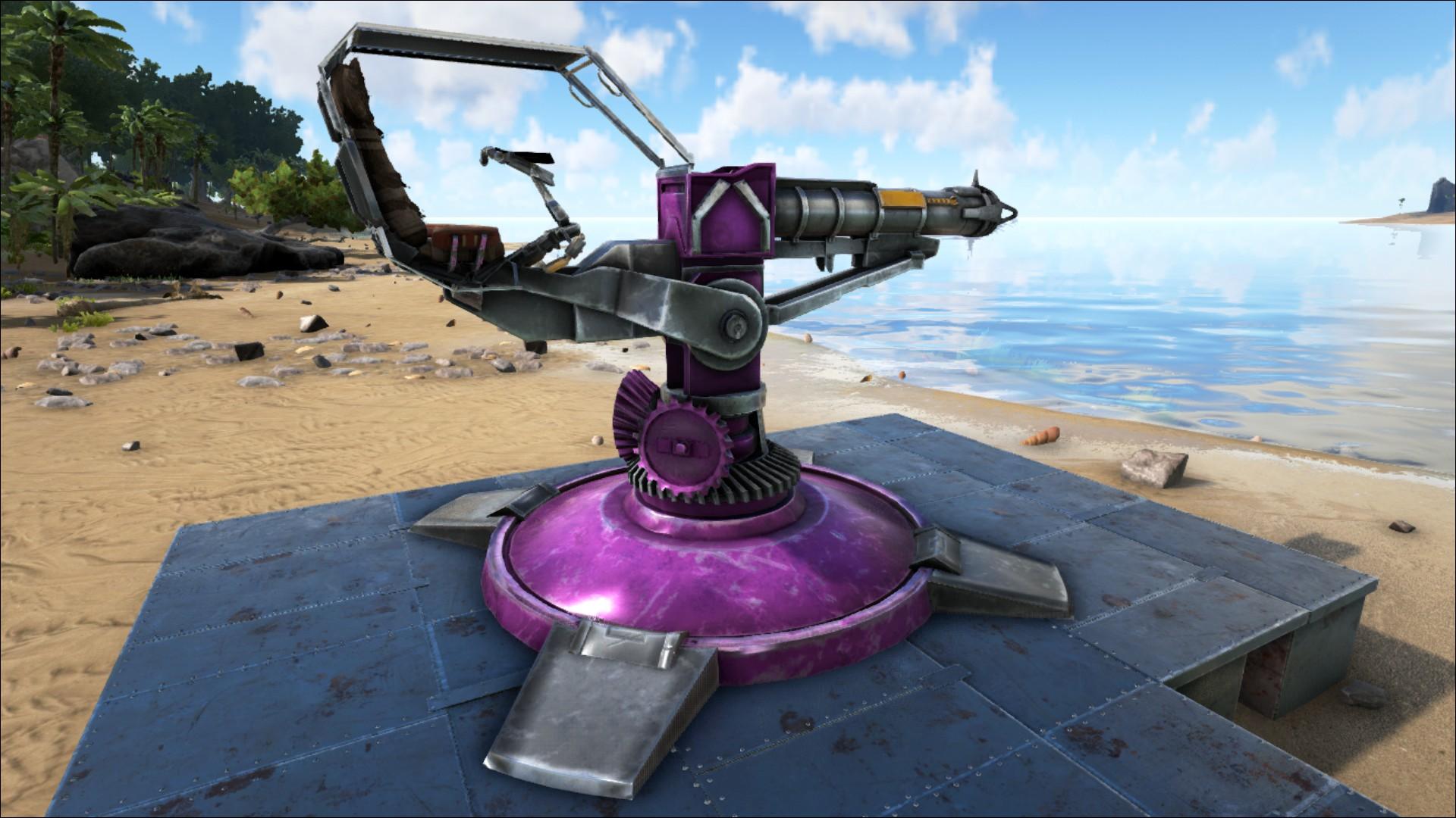 ... Ark Blueprint List Rocket Turret Official Ark Survival Evolved Wiki ...